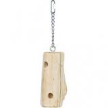 Prevue Pet Products - Prevue Woodpecker Bird Toy - Natural Wood - Medium