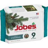 Easy Gardener - Jobes Evergreen Fertilizer Spikes-9 Pack