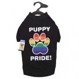 Casual Canine - Puppy Pride Tee -Medium - Black