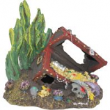 Blue Ribbon Pet Products - Exotic Environments Sunken Treasure Chest - Small