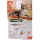 F.C.E. - Advantage Ii For Cats - Orange - 5-9 Pound/4Pack