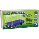 Ware Mfg- Bird/Sm An - Home Sweet Home Cage-Assorted-40 Inch