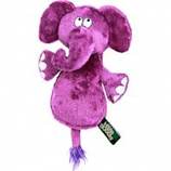 Quaker Pet Group - Hear Doggy Flattie Elephant With Chew Guard - Pink - Mini
