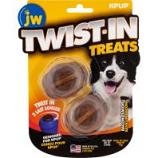 Jw - Dog/Cat - Jw Twist-In Treats - Bacon - 2 Pack