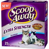 Clorox Petcare Products - Scoop Away Extra Strength Cat Litter - Scented - 25 Pound