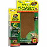Zoo Med - Eco Carpet Reptile Terrarium Liner - Green / Brown 10 Gal / 2 Pack