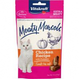 Vitakraft Pet - Meaty Morsels Cat Treat - Chicken/Pumpkin - 1.4 Oz