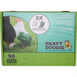 Paws/Alcott - Heavy Doodie 2-Ply Waste Bags - 50 Count