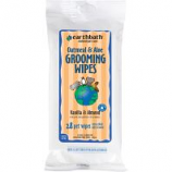 Earthwhile Endeavors - Earthbath Dog Grooming Wipes - Vanilla/Almond - 28 Count