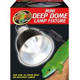 Zoo Med - Deep Dome Lamp - Black 5.5 Inch