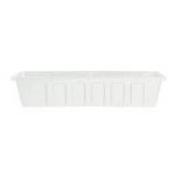 Novelty Mfg -Polly Pro Planter Liner-White-24 Inch