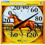 Headwind Consumer - Ezread Dial Thermometer Horse-Horse-12.5 Inch