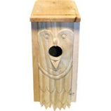 Welliver Outdoors - Welliver Carved Bluebird House Owl-Natural
