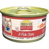 Canidae- Under The Sun - Witty Kitty A Fish Story Cat Food - Salmon - 3 Oz