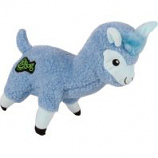 Quaker Pet Group - Godog Fleece Llama Durable Plush Dog Toy - Blue - Large