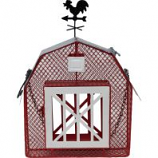 Songbird Essentials - Barn Mesh Seed/Suet Feeder - Red