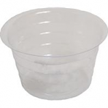 Bond Manufacturing - Plastic Saucer-Clear-4 Inch