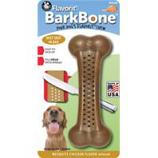 Pet Qwerks - Barkbone Mesquite Flavored Nylon Bone-Chicken-Large