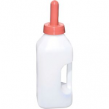 Tuff Stuff Products - Snap On Nipple Calf Bottle With Handle - White - 2 Quart