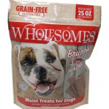 Sportmix - Wholesomes Grain Free Moist Treats For Dogs - Pork - 25 Oz