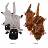 Zanies - Barnyard Unstuffies Small Mouse