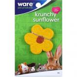 Ware Mfg - Critter Ware Krunchy Sunflower - Yellow/Brown