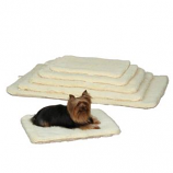 Slumber Pet -  Double Sided Sherpa Mat - Medium/Large Natural