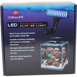Aqueon Products - Glass - Coralife Led Clip - On Marine Fixture -