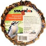 Heath Mfg - Stack M Seed Cake - Woodpecker - 7 Oz