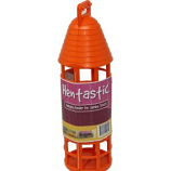 Unipet USA - Hentastic Hanging Jumbo Treat Feeder - Orange - Jumbo