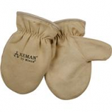 Kinco International-Axeman Lined Ultra Suede Mitten-Tan-Child