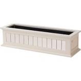 The Master Gardner - Window Box Nantucket - White - 36 Inch