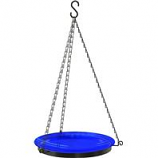 Panacea - Hanging Glass Birdbath With Chains-Assorted-10 Inch