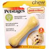Petstages - Chick A Bone Infused Long Lasting Chew Toy-Chicken-Small