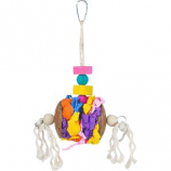 Prevue Pet Products - Prevue Accordian Crinkle Bird Toy - Assorted