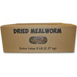 Unipet Usa - Mealworms To Go Dried Mealworms - 5 Lb