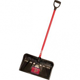 Bully Tool - Fiberglass-Grip Handle Poly Combo Snow Shovel - 22 Inch