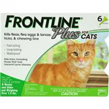 F.C.E. - Frontline Plus For Cats - 6 Pack