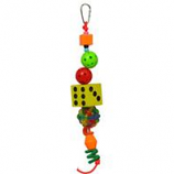 A&E Cage Company - Happy Beaks Jb S Dice - Multi - Small
