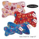 Zanies - Ruff N Tumble Bones Dog Toys Refill - 72 pc