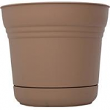 Bloem - Bloem Saturn Planter - Chocolate - 10 Inch