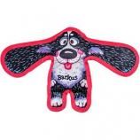Fuzzu - Barkus All Ears Tough & Crackly Dog Toy - Black - Medium