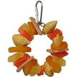 A&E Cage Company - Hb Tropical Delight - Fruit Nut Ring - Multi - Small