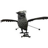 Esschert Design Usa - Metal Owl Rocker - Large