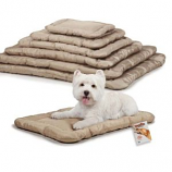 Slumber Pet - Megaruff Crate Mat - Medium/Large - Brown