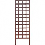 Panacea Products - Wood Square Framed Trellis - Brown - 72 Inch