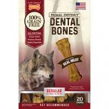 Tfh Publications/Nylabone - Primal Instinct Dental Bones - Meat - Regular/20 Count