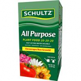 Schultz - Water Soluble All Purpose Plant Food 20-20-20--5 Lb