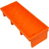 Unipet Usa - Hentastic Trough Feeder - Orange