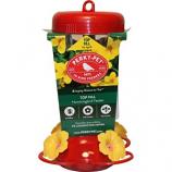 Woodstream Hummingbird  W - Perky Pet Top-Fill Plastic Hummingbird Feeder - Red - 16 Oz